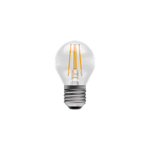 4W LED Filament Clear Round - ES, 2700K