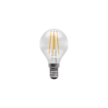4W LED Filament Clear Round Dimmable  - SES, 2700K