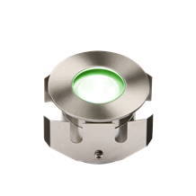 IP68 LV 1W Green High Powered LED Stainless Steel Decking Light