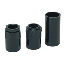25mm Female Adaptors (Black)