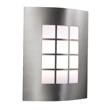 LED OUTDOOR & PORCH WALL LIGHT - STAINLESS STEEL 1LT