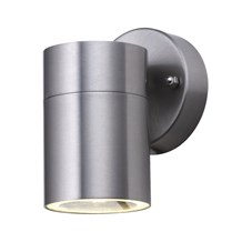 LED OUTDOOR & PORCH (GU10 LED) WALL 1LT STAINLESS STEEL TUBE