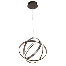 MAGIC 3LT BRUSHED SATIN NICKEL LED GYRO PENDANT