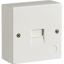 2/3A Surface Mount Telephone Extension Socket (IDC)