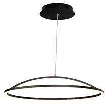 MAGIC LED PENDANT, MATT BLACK