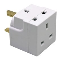 Adaptor 13Amp 2 Way