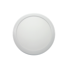 24W ARIAL Round LED Panel - 300mm, 4000K, Emergency