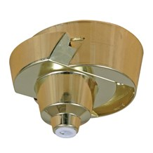 Brass Plug-ln Ceiling Rose