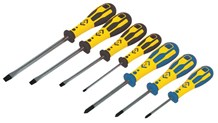 C.K Dextro Screwdriver Slotted & PZD Set Of 7
