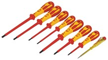 C.K DextroVDE Screwdriver Slotted Parallel & PH Set Of 8