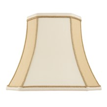 Camilla Shade Two Tone Cream Faux Silk 5.5 inch Endon CAMILLA-5.5
