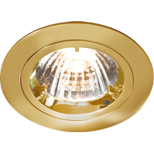 DIE-CAST LV DOWNLIGHT - 50mm BRASS