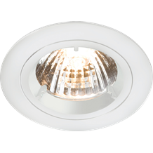 DIE-CAST LV DOWNLIGHT - 50mm WHITE