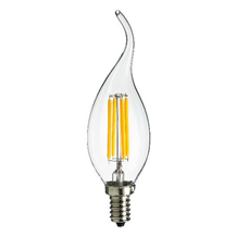 CLF4SESC 230V 4W LED 35mm SES Clear Flame Tip Candle 3000K