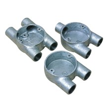 "Conduit Box 25mm ""U"" (Galvanised)"