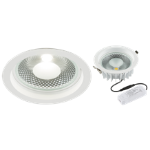CRDL20 230V 20W COB LED Recessed Commercial Downlight 4000K