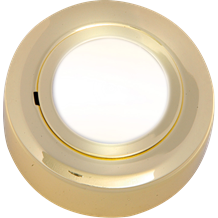 CRF02B IP20 12V L/V Brass Cabinet Fitting Surface or Recessed (lamp included)