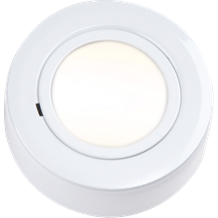 CRF02W IP20 12V L/V White Cabinet Fitting Surface or Recessed (lamp included)