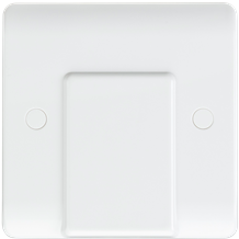 Curved Edge 20A Flex Outlet Plate