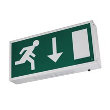 Emergency Exit Box LED 4 Watts Maintained 3hrs