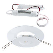 EMPDL 3W LED EMERGENCY DOWNLIGHT (Non-maintained )