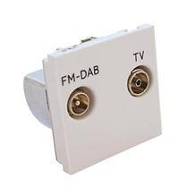 Euro Module 25 x 50mm TV and FM