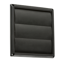 "150MM/6"" Gravity Shutter - Black"
