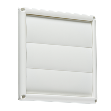 "150MM/6"" Gravity Shutter - White"