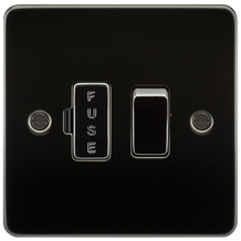 FP6300GM Flat Plate 13A switched fused spur unit - gunmetal