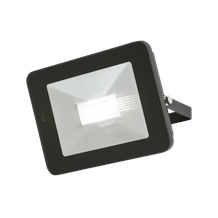 FLF50M 230V IP65 50W LED Black Die-Cast Aluminium Floodlight with Microwave Sens
