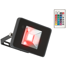 FLF50RGB 230V IP65 50W RGB LED Black Die-Cast Aluminium Floodlight