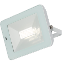 FLF50WM 230V IP65 50W LED White Floodlight with Microwave Sensor 4000K