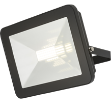 FLF80M 230V IP65 80W LED Black Die-Cast Aluminium Floodlight with Microwave Sens