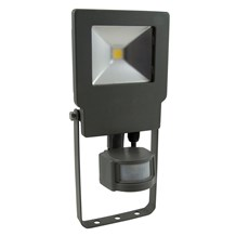 10W Skyline PIR Floodlight - 4000K