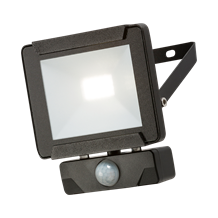 FLR10P 230V IP65 10W LED Floodlight with PIR sensor 4000K