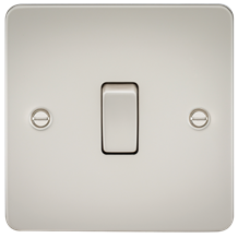 FP2000PL Flat Plate 10AX 1G 2 Way Switch - Pearl