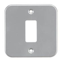 GDFP001M Metalclad 1G grid faceplate