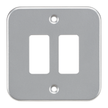 GDFP002M Metalclad 2G grid faceplate