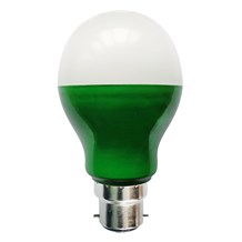 5W LED Green GLS - BC, Outdoor
