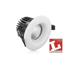 Integral LED Lux Fire 70mm C/O IP65 9W 3000K Dimmable Fire Rated Downlight
