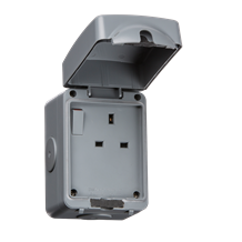 IP66 13A 1G DP Switched Socket