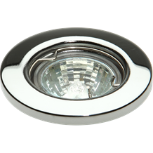 IP20 12V 35W max. L/V Chrome Downlight 35mm