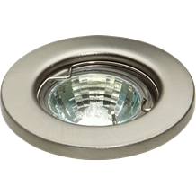 IP20 12V 35W max. L/V Brushed Chrome Downlight 35mm