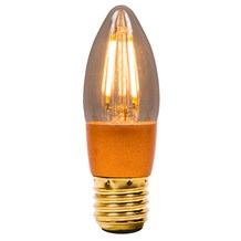 4W LED Vintage Candle Dimmable - ES, Amber, 2000K