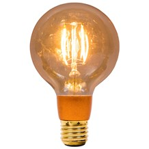 4W LED Vintage Globe Dimmable - ES, Amber, 2000K