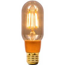 4W LED Vintage Tubular Dimmable - ES, Amber, 2000K