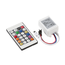 LEDFR3 12V IR Controller and Remote - RGB Chaser