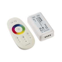 LEDFR5 12V / 24V RF Touch Controller and Remote - RGB