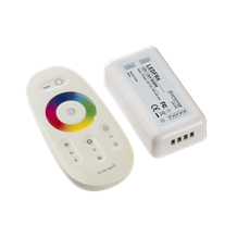 LEDFR6 12V / 24V RF Touch Controller and Remote - RGBW