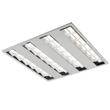230V IP20 42W T5 LED Recessed Modular Fitting 600x600mm 4000K